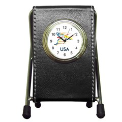 F686a000 1c25 4122 A8cc 10e79c529a1a Pen Holder Desk Clocks by MERCH90