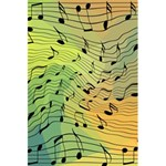 Music Notes 5.5  x 8.5  Notebooks Front Cover