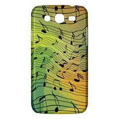 Music Notes Samsung Galaxy Mega 5 8 I9152 Hardshell Case  by linceazul