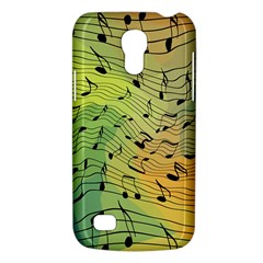 Music Notes Galaxy S4 Mini by linceazul