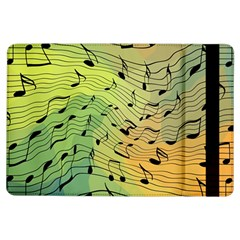 Music Notes Ipad Air Flip by linceazul