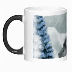 Cute Polar Bear Baby, Merry Christmas Morph Mugs by FantasyWorld7