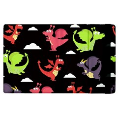 Cute Flying Dragons Apple Ipad 2 Flip Case by allthingseveryday