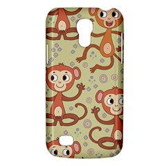 Cute Cartoon Monkeys Pattern Galaxy S4 Mini by allthingseveryday
