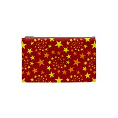 Star Stars Pattern Design Cosmetic Bag (small)  by Celenk