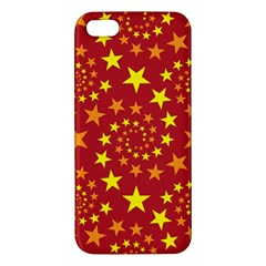 Star Stars Pattern Design Apple Iphone 5 Premium Hardshell Case by Celenk
