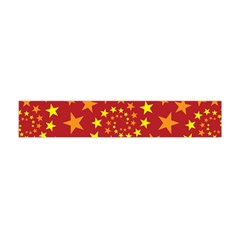Star Stars Pattern Design Flano Scarf (mini) by Celenk