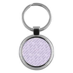 Halloween Lilac Paper Pattern Key Chains (round)  by Celenk