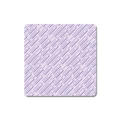 Halloween Lilac Paper Pattern Square Magnet by Celenk