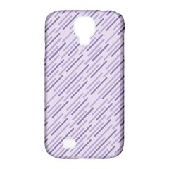 Halloween Lilac Paper Pattern Samsung Galaxy S4 Classic Hardshell Case (pc+silicone) by Celenk