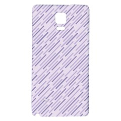 Halloween Lilac Paper Pattern Galaxy Note 4 Back Case by Celenk