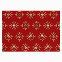 Pattern Background Holiday Large Glasses Cloth (2 Side) by Celenk