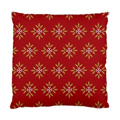 Pattern Background Holiday Standard Cushion Case (two Sides) by Celenk