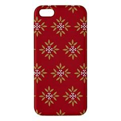 Pattern Background Holiday Apple Iphone 5 Premium Hardshell Case by Celenk
