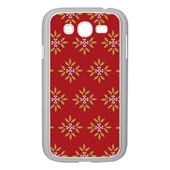 Pattern Background Holiday Samsung Galaxy Grand Duos I9082 Case (white) by Celenk