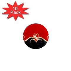 Red Black Background Wallpaper Bg 1  Mini Magnet (10 Pack)  by Celenk