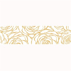 Yellow Peonies Large Bar Mats by 8fugoso