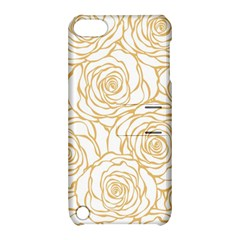 Yellow Peonies Apple Ipod Touch 5 Hardshell Case With Stand by 8fugoso