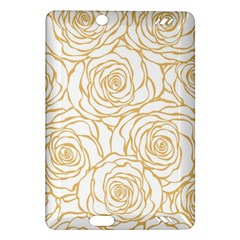 Yellow Peonies Amazon Kindle Fire Hd (2013) Hardshell Case by 8fugoso