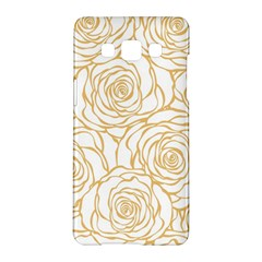 Yellow Peonies Samsung Galaxy A5 Hardshell Case  by 8fugoso