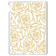 Yellow Peonies Apple Ipad Pro 9 7   White Seamless Case by 8fugoso
