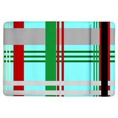 Christmas Plaid Backgrounds Plaid Ipad Air Flip by Celenk