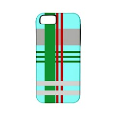 Christmas Plaid Backgrounds Plaid Apple Iphone 5 Classic Hardshell Case (pc+silicone) by Celenk