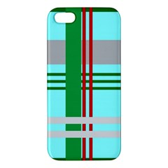 Christmas Plaid Backgrounds Plaid Apple Iphone 5 Premium Hardshell Case by Celenk