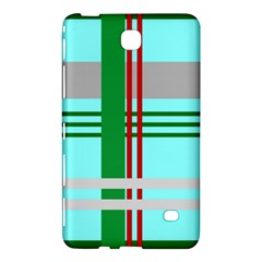 Christmas Plaid Backgrounds Plaid Samsung Galaxy Tab 4 (8 ) Hardshell Case  by Celenk