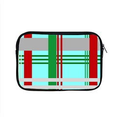 Christmas Plaid Backgrounds Plaid Apple Macbook Pro 15  Zipper Case by Celenk