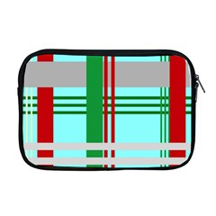 Christmas Plaid Backgrounds Plaid Apple Macbook Pro 17  Zipper Case by Celenk