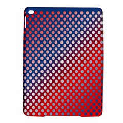 Dots Red White Blue Gradient Ipad Air 2 Hardshell Cases by Celenk
