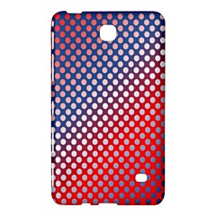 Dots Red White Blue Gradient Samsung Galaxy Tab 4 (8 ) Hardshell Case  by Celenk