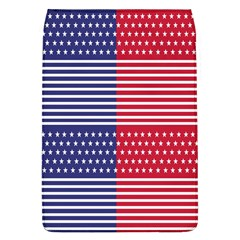American Flag Patriot Red White Flap Covers (l)  by Celenk