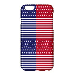 American Flag Patriot Red White Apple Iphone 6 Plus/6s Plus Hardshell Case by Celenk