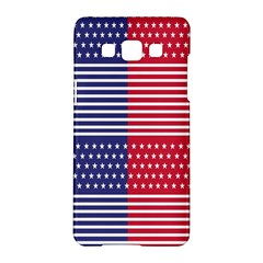 American Flag Patriot Red White Samsung Galaxy A5 Hardshell Case  by Celenk