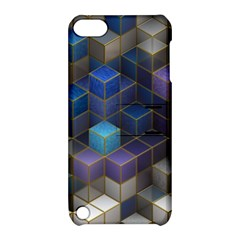 Cube Cubic Design 3d Shape Square Apple Ipod Touch 5 Hardshell Case With Stand by Celenk