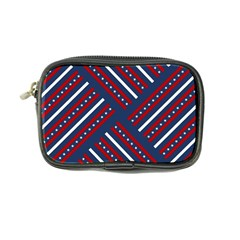 Patriotic Red White Blue Stars Coin Purse by Celenk
