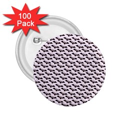 Halloween Lilac Paper Pattern 2 25  Buttons (100 Pack)  by Celenk