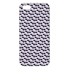 Halloween Lilac Paper Pattern Apple Iphone 5 Premium Hardshell Case by Celenk
