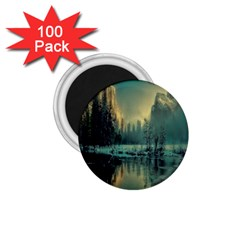 Yosemite Park Landscape Sunrise 1 75  Magnets (100 Pack)  by Celenk