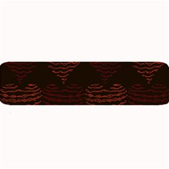 Heart Seamless Background Figure Large Bar Mats by Celenk