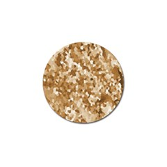 Texture Background Backdrop Brown Golf Ball Marker (10 Pack) by Celenk