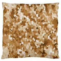 Texture Background Backdrop Brown Large Cushion Case (two Sides) by Celenk
