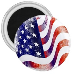 Usa Flag America American 3  Magnets by Celenk