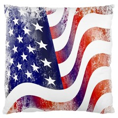 Usa Flag America American Standard Flano Cushion Case (one Side) by Celenk