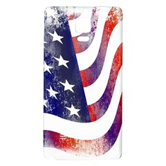 Usa Flag America American Galaxy Note 4 Back Case by Celenk