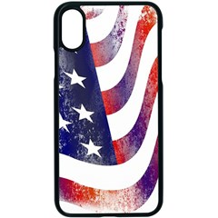 Usa Flag America American Apple Iphone X Seamless Case (black) by Celenk
