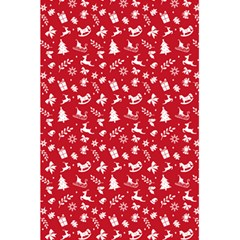 Red Christmas Pattern 5 5  X 8 5  Notebooks by patternstudio