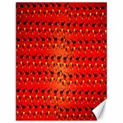 Texture Banner Hearts Flag Germany Canvas 18  X 24   by Celenk